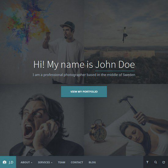 Devendo-Photography-WordPress-Theme