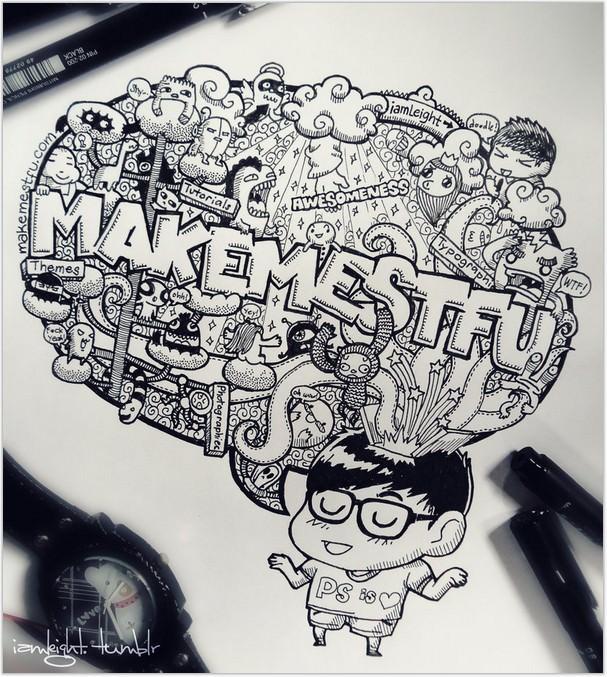 Doodle Make Me STFU