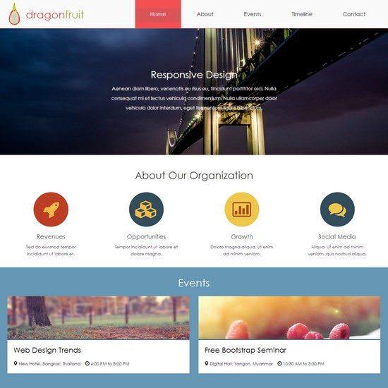 Dragonfruit HTML5 Template