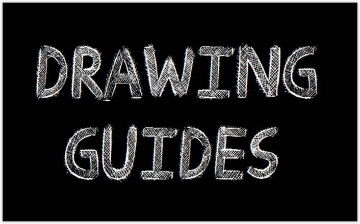 Drawing Guides fontby Jonathan S. Harris