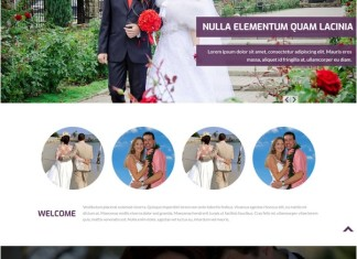 wedding HTML5 & CSS3 Template