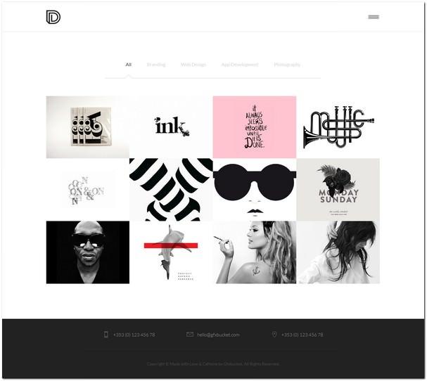 Dropout - Portfolio Template