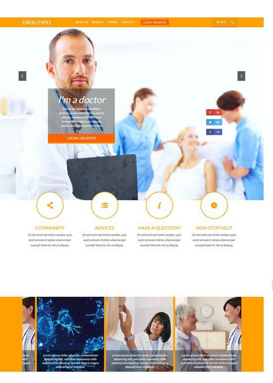 Drug-Expo-a-Medical-Category-Flat-Bootstrap-Responsive-web-template