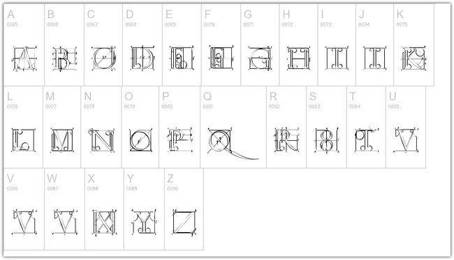 Duerer Latin Font