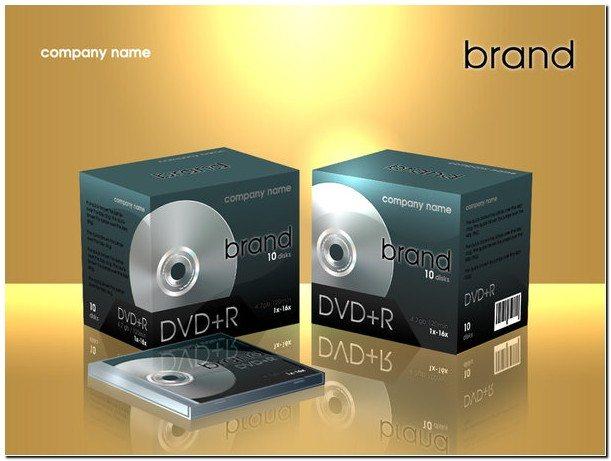 Dvd Box Mock-Up