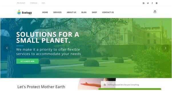 Ecology - Environment & Non-Profit