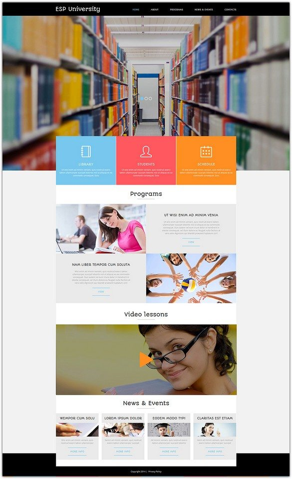 Education Centre Joomla Template
