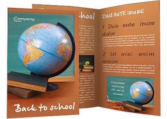 Education Desk Brochure Template