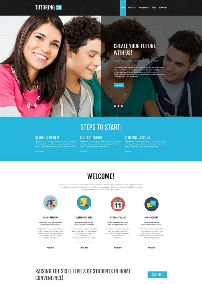 Education Online WordPress Theme