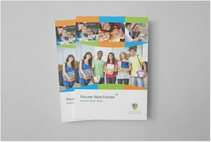 Educational Brochure Template # 2