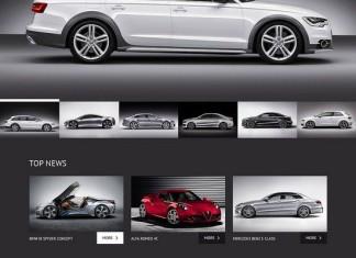 automotive WordPress theme