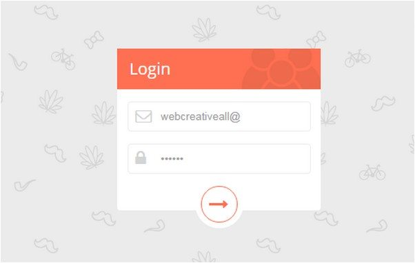 Elegant Login Form