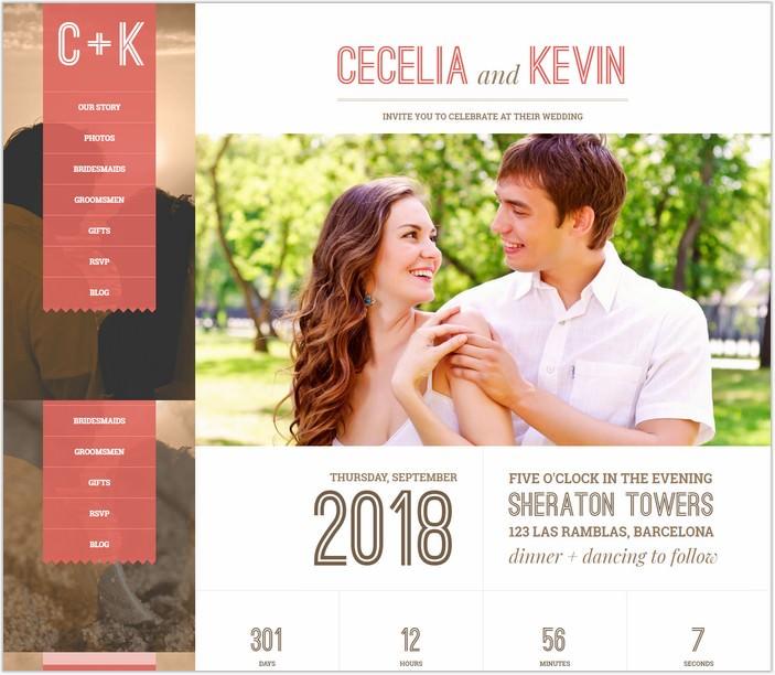 Eternity - Responsive Wedding WordPress PHP Theme