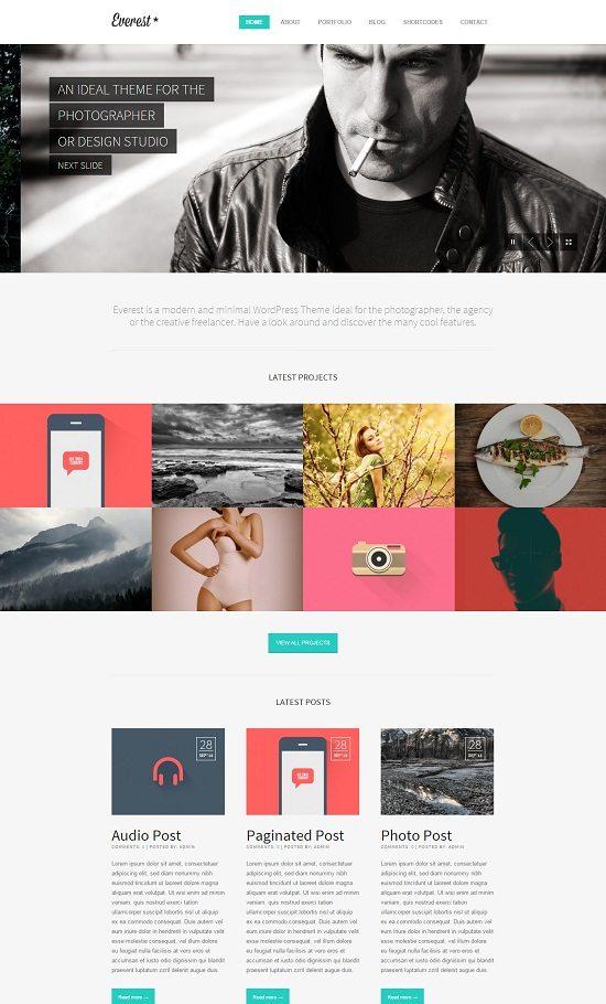 Everest - Responsive Portfolio HTML5 Template