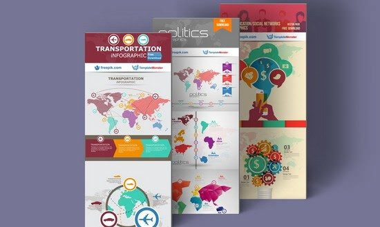 Exclusive High Quality Free Infographics Templates