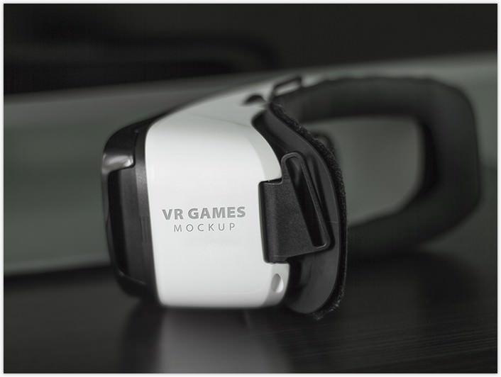 FREE Mock-up! VR Games