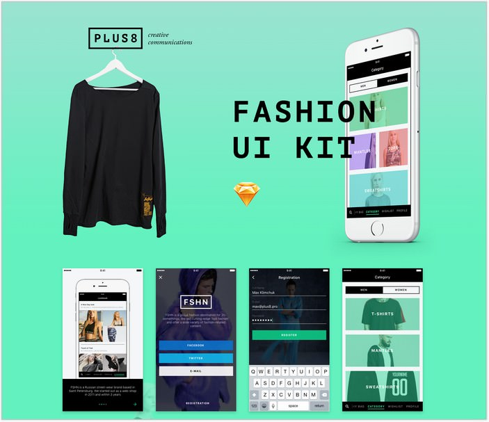 Fashion App UI KIT