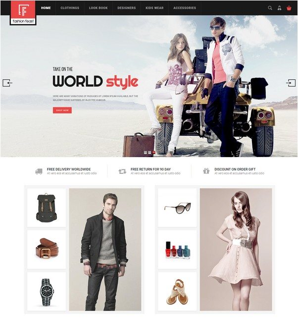 Fashion Feast - Magento Responsive Theme