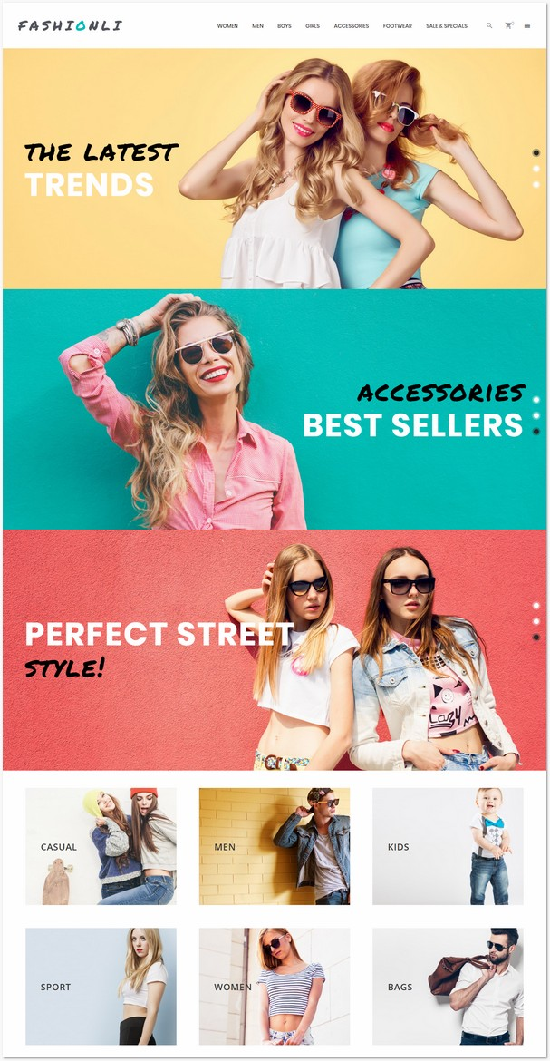 Fashionli - Fashion Store PrestaShop Theme