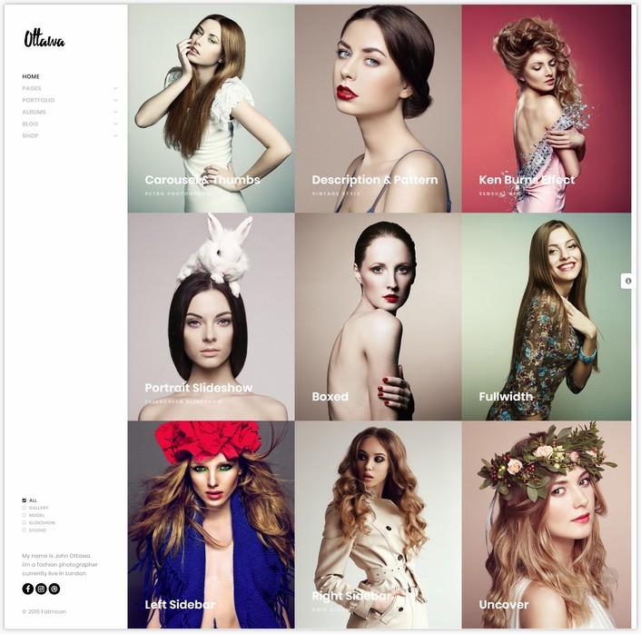 FatMoon Creative & Photography Multi-Purpose Theme