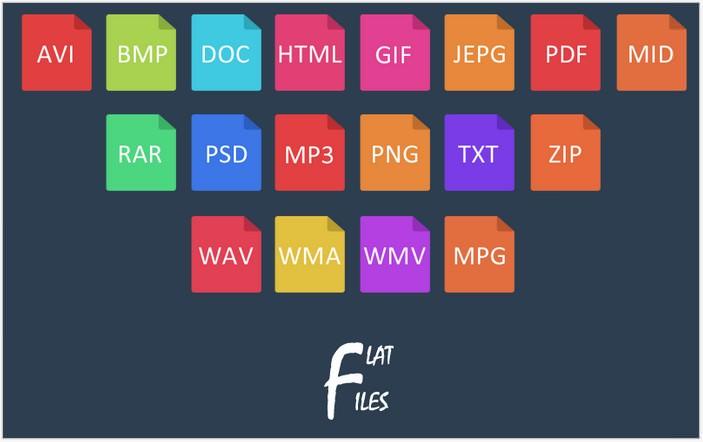 Flat Files Icon