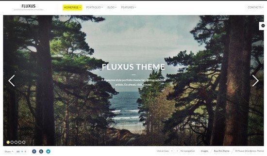 Fluxus – Portfolio Theme for Photographers
