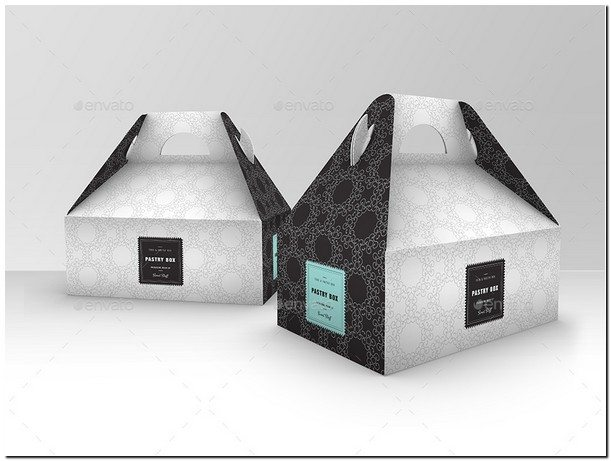 Food Pastry Boxes Vol.1