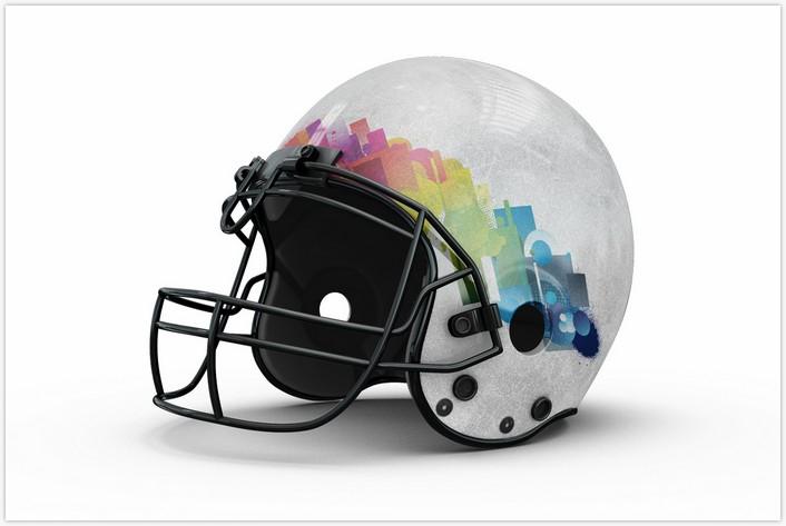 Football Helmet Mockup # 2