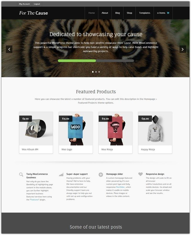 For The Cause WordPress Theme