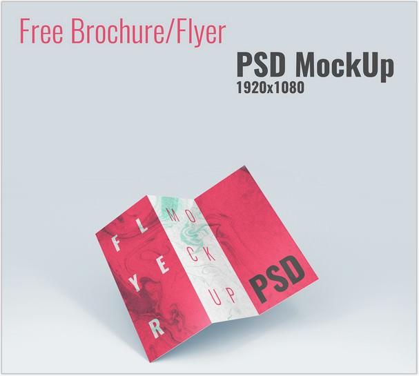 Free Brochure Flyer MockUp