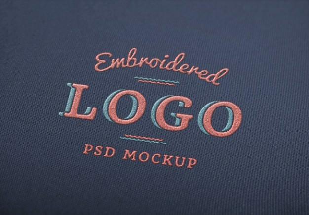 Free Elegant logo Mockup PSD
