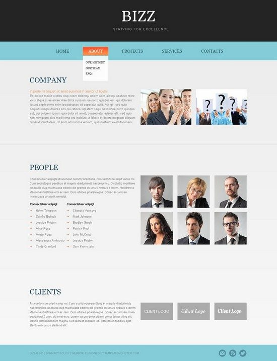 Free HTML5 Business Theme