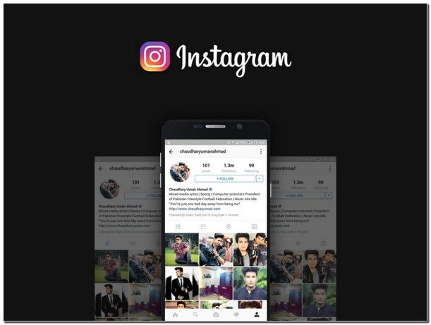 Free Instagram Mockup