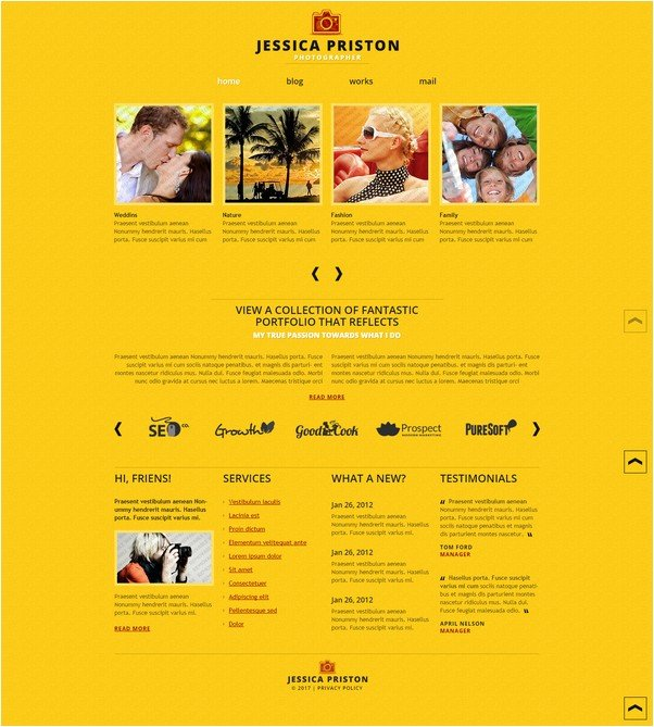 Free Joomla 2.5 Website Template