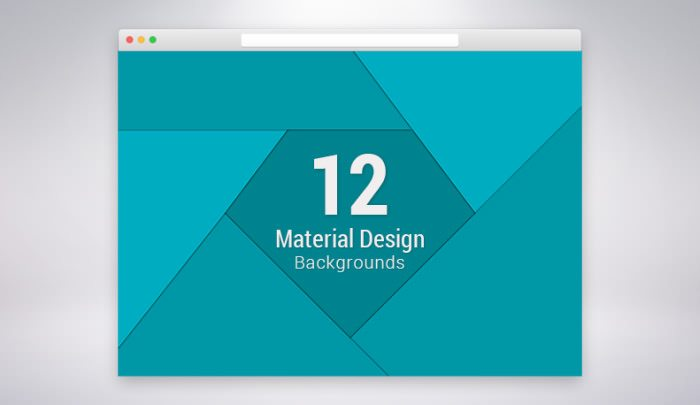 Free Material Design Promotional Backgrounds