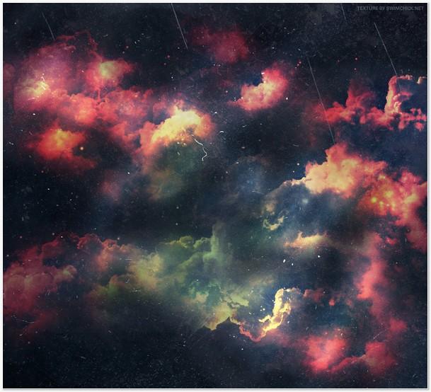 Free Nebula Dust Texture