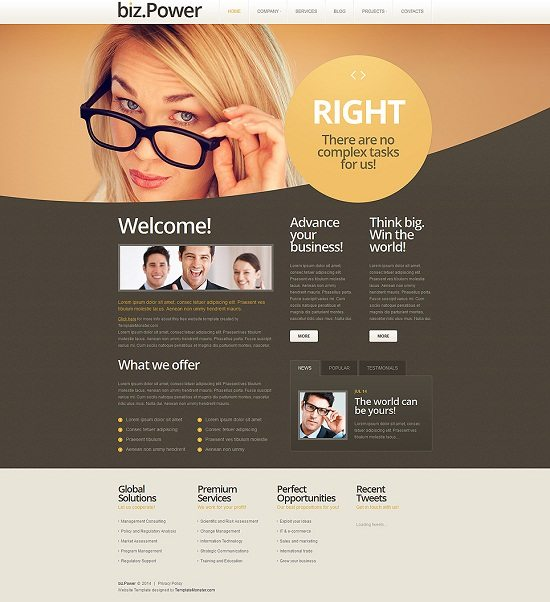 Free WordPress Business Theme