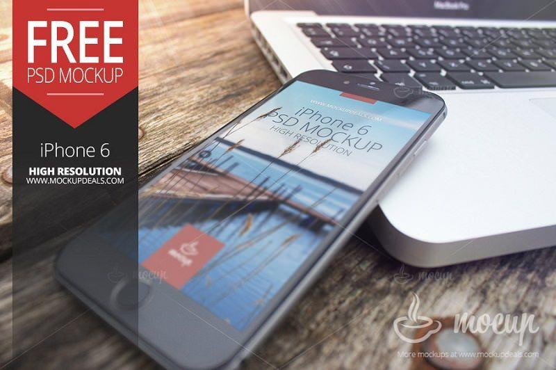 Free iPhone 6 Mockup Pier