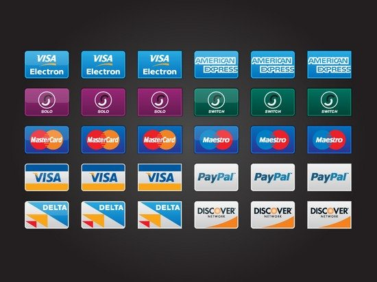 Freebie Credit Card Icons