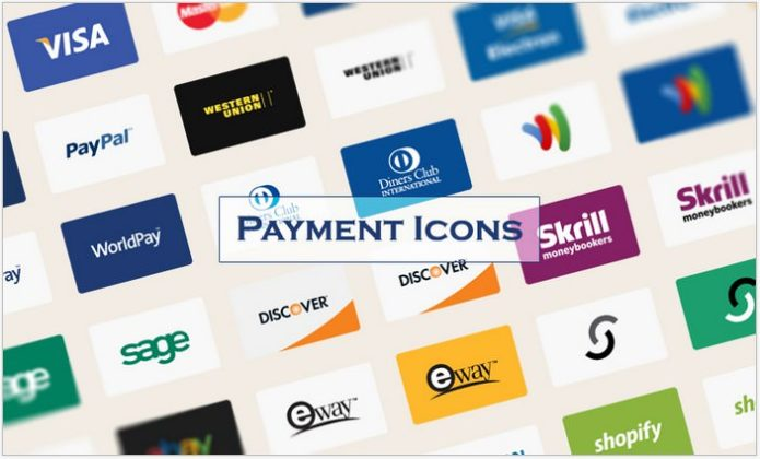 Freebie Payment Method Vector Icons