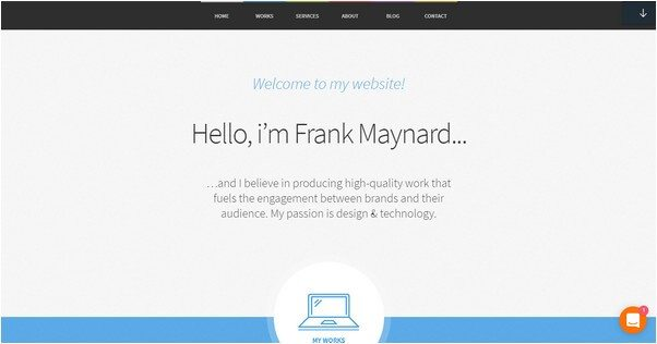 FreelancerOne Page WordPress Theme