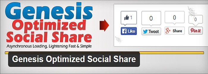 Genesis Optimized Social Share