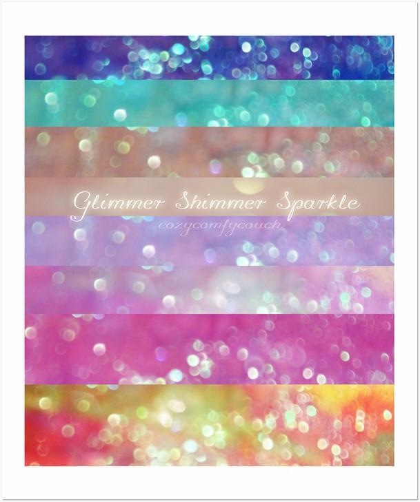 Glimmer Shimmer Sparkle