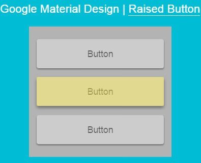Google's Material Design Raised Button