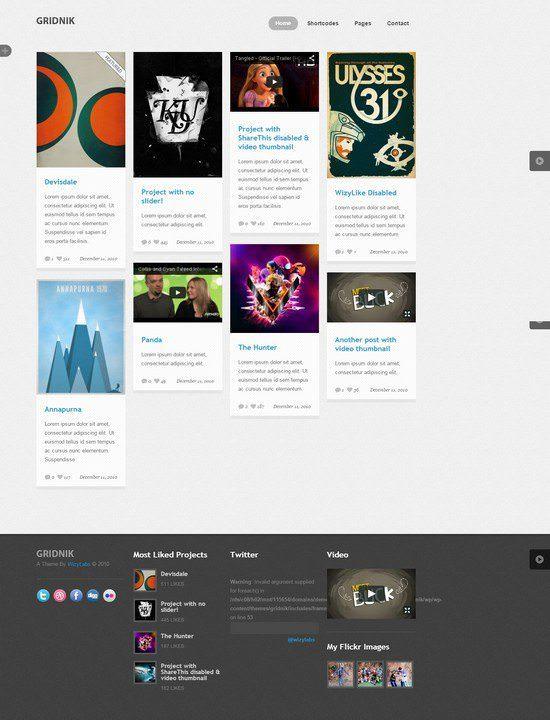Gridnik-Elite-Portfolio-Wordpress-Theme