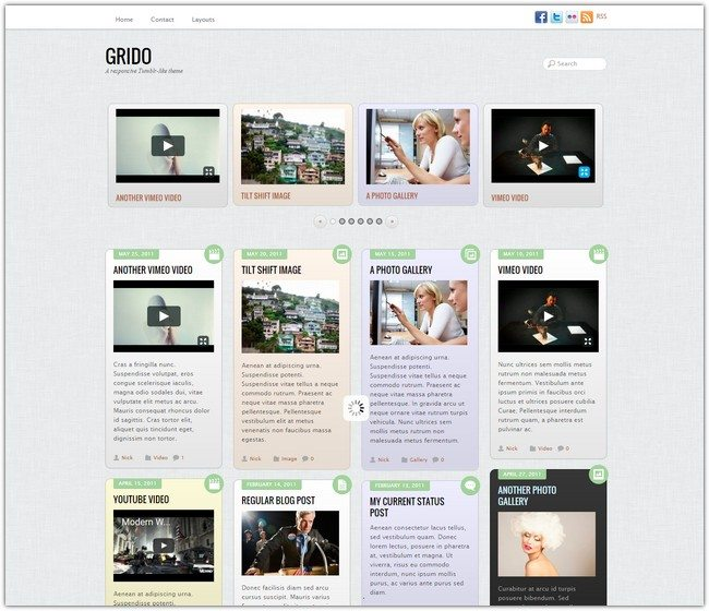 Grido WordPress Theme