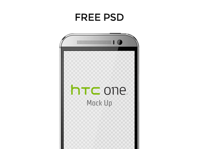 HTC ONE M8 Mock Up Template