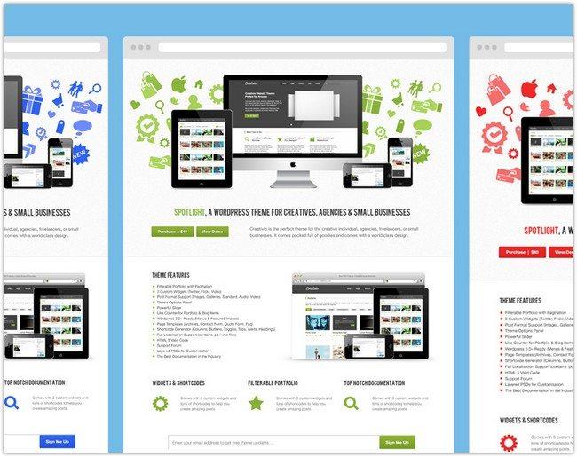 HUGE FREEBIE SPOTLIGHT HTML THEME