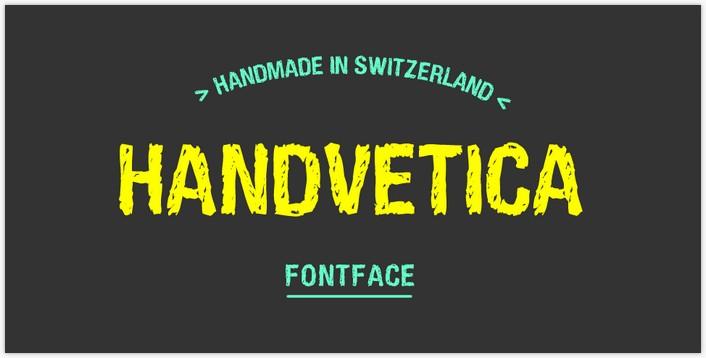 HandVetica Font