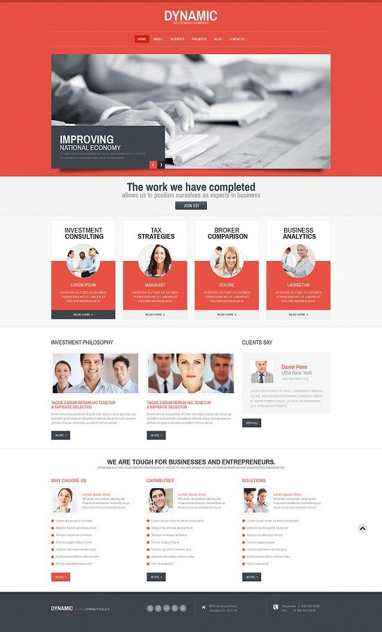 Harmonic Consulting WordPress Theme